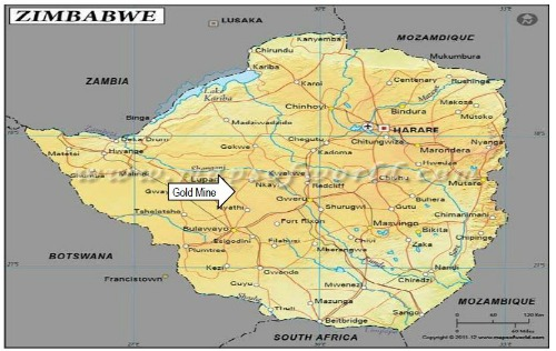 ElDore To Acquire African Gold Mine - Gold distribution map us